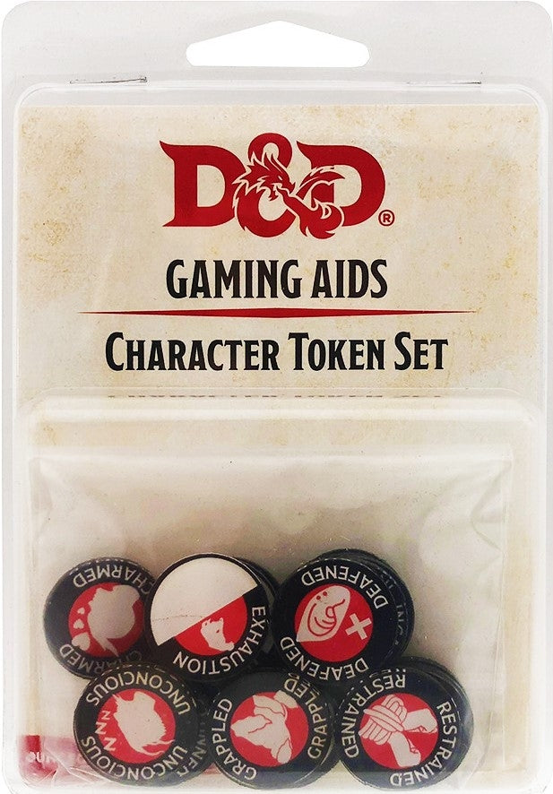 D&D Character Token Set