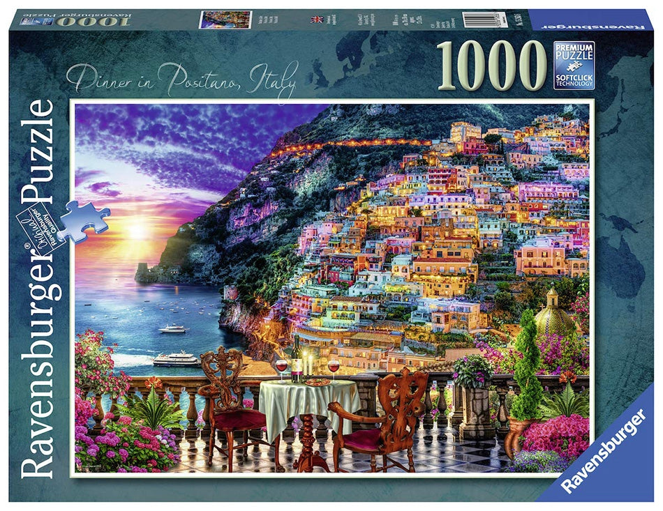 Dinner in Positano Puzzle 1000pc - NEW 2019
