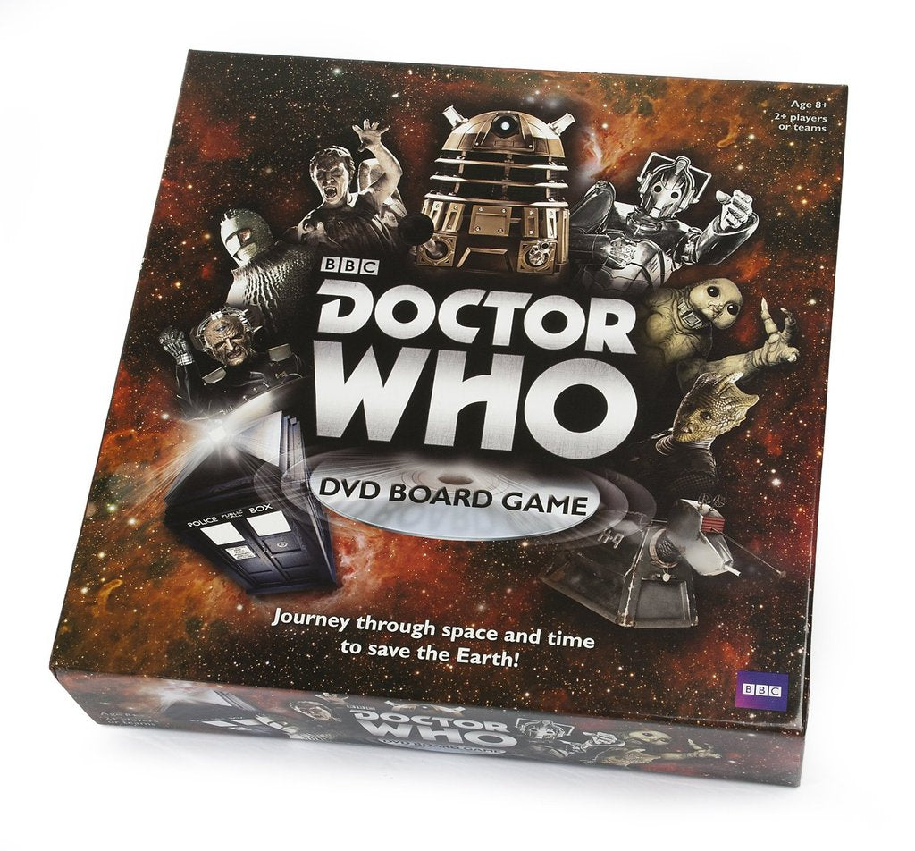 Doctor Who- DVD Board Games