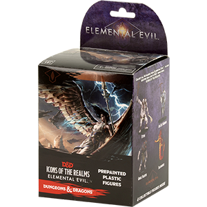 Elemental Evil - Booster Box - D&D - Icons of the Realm Minis