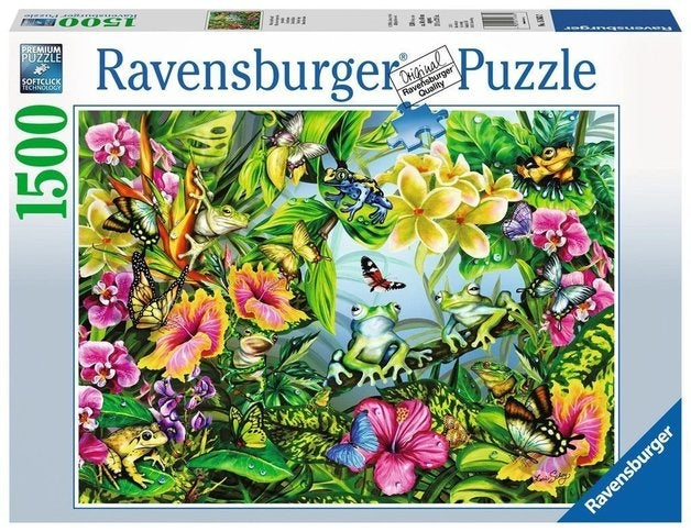 Find The Frogs Puzzle 1500Pc