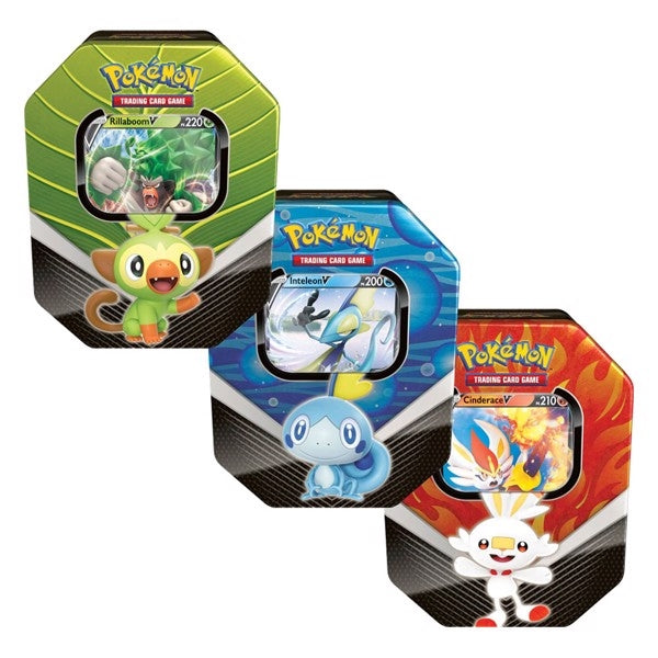 Galar Partners Tin Set - Pokemon