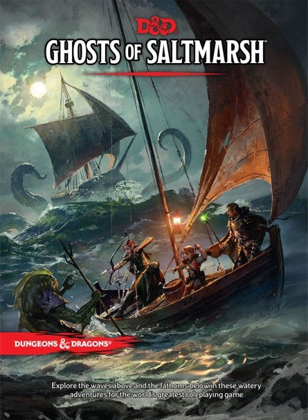 Ghosts of Saltmarsh - D&D - 5e