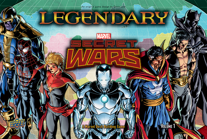 Marvel Legendary- Secret Wars Volume 1