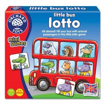 Little Bus Lotto - Mini Games Orchard