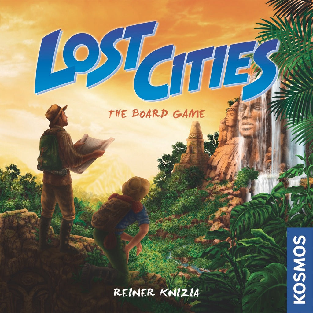 Lost Cities- Board Game