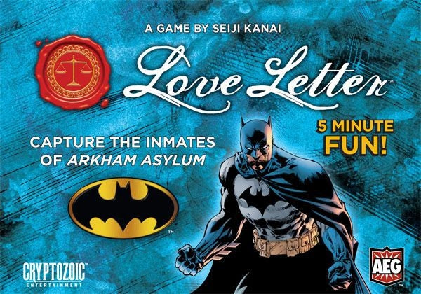 Love Letter - Batman Boxed