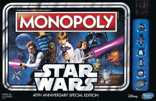 Monopoly - 40th Anniversary Star Wars