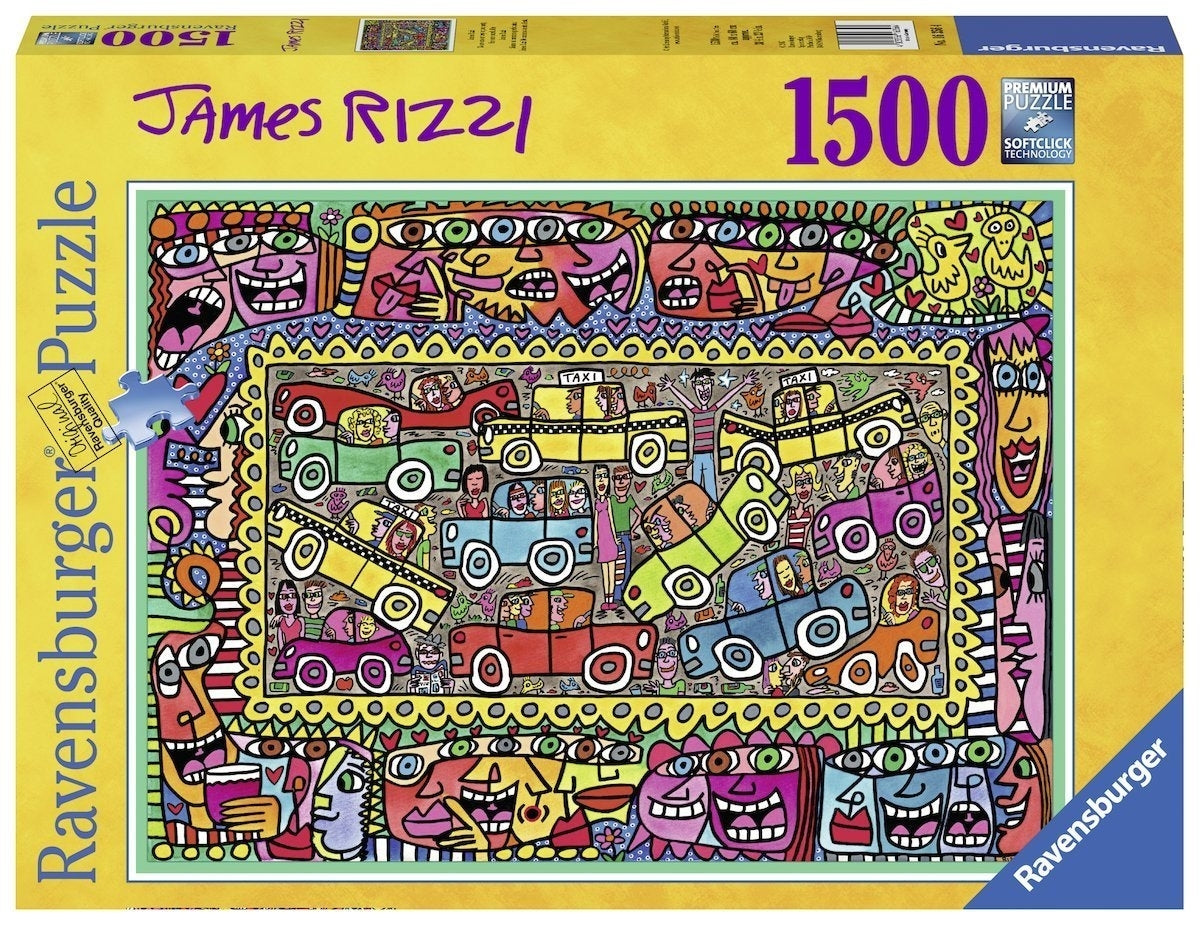 On Our Way To Party Puzzle 1500Pc