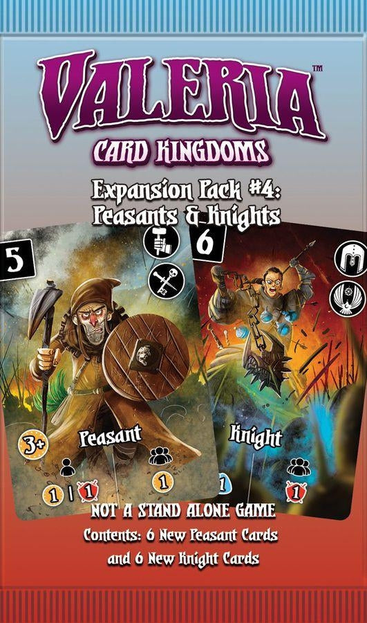 Peasants and Knights - Valeria Card Kingdoms Expansion Pack