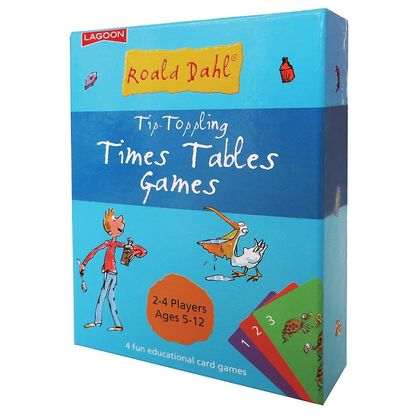 Roald Dahl- Tip-Toppling Times Table Games