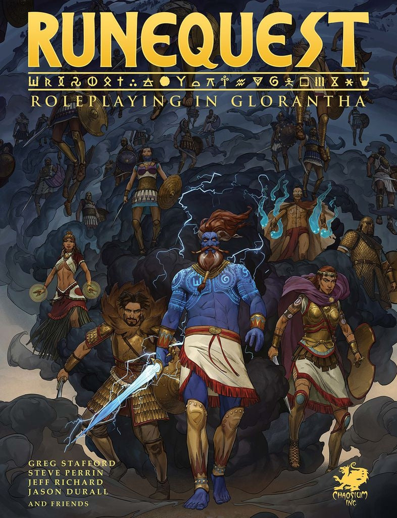 Runequest - Roleplaying in Glorantha Core Rulebook
