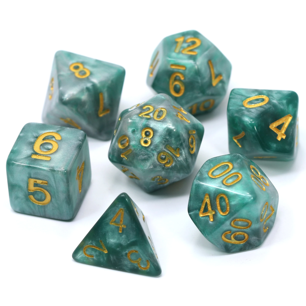 Serpentine - Die Hard Dice Polymer Set Polyhedral