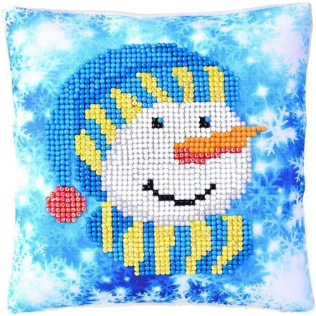 SNOWMAN CAP PILLOW - DDOTZ