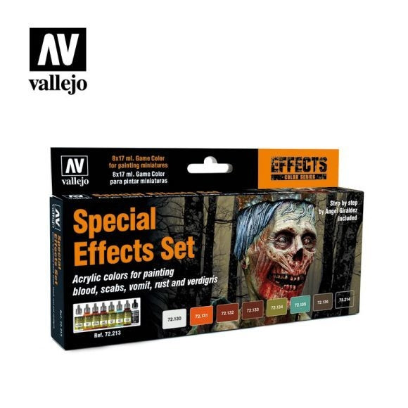 Special Effects Special Set Vallejo Game Colour