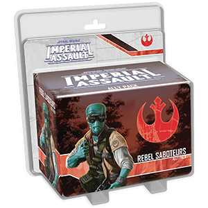 Rebel Saboteurs Ally Pack - Star Wars Imperial Assault