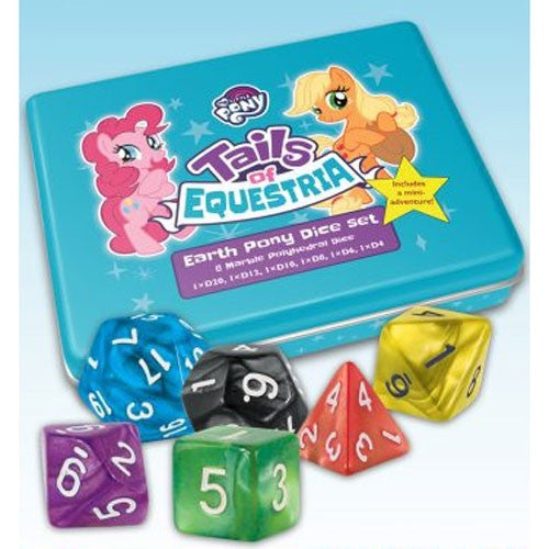 Tails of Equestria - Earth Pony Dice Set