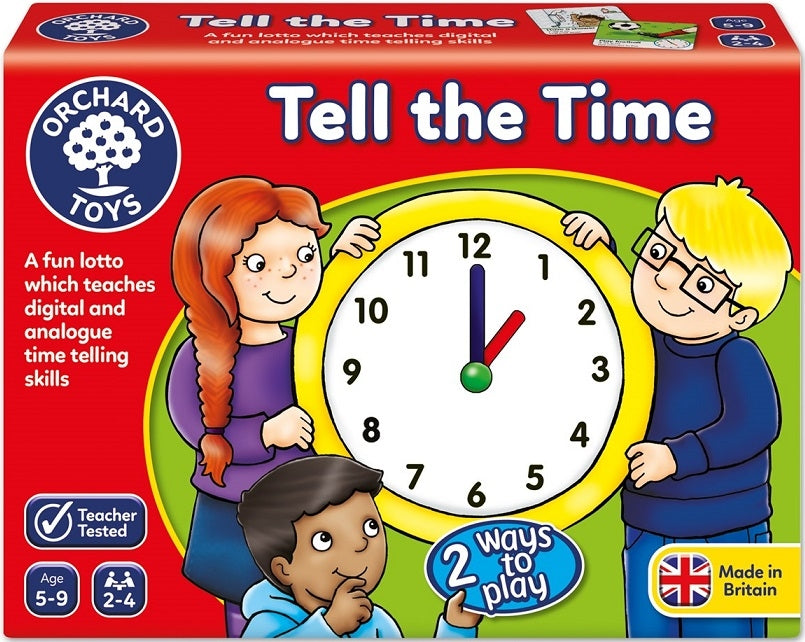 Tell The Time Lotto