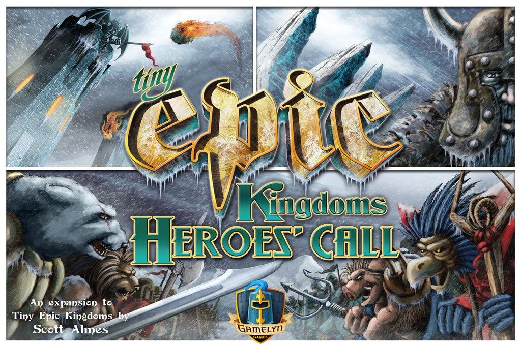 Tiny Epic Kingdoms 2nd Edition: Heroes Call