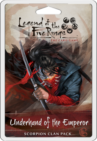 Underhand of the Emperor - Scorpion Clan Pack - Legend of the Five Rings LCG
