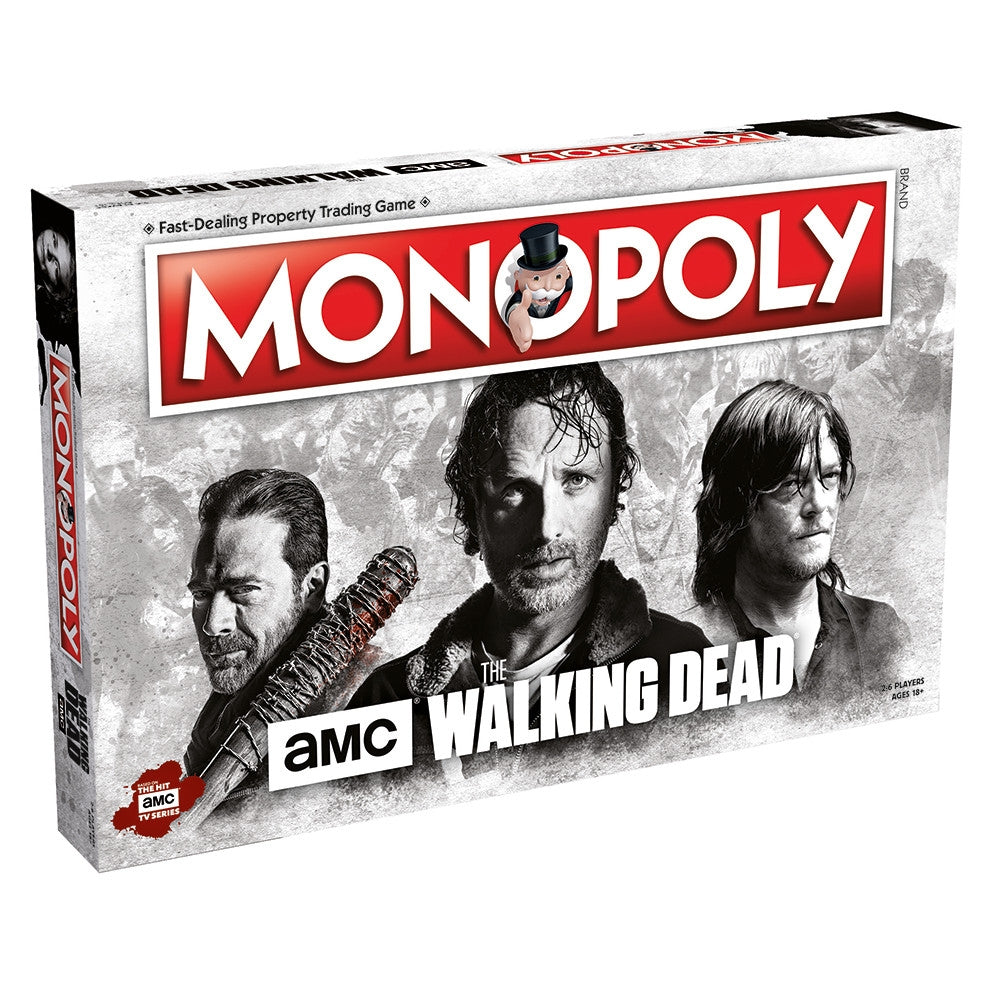 Walking Dead AMC - Monopoly