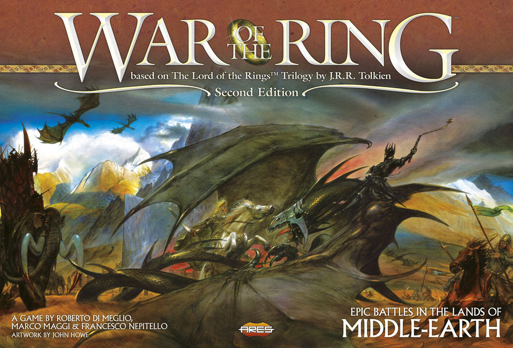 War of the Ring 2nd Edition - Lord of the Rings LOTR
