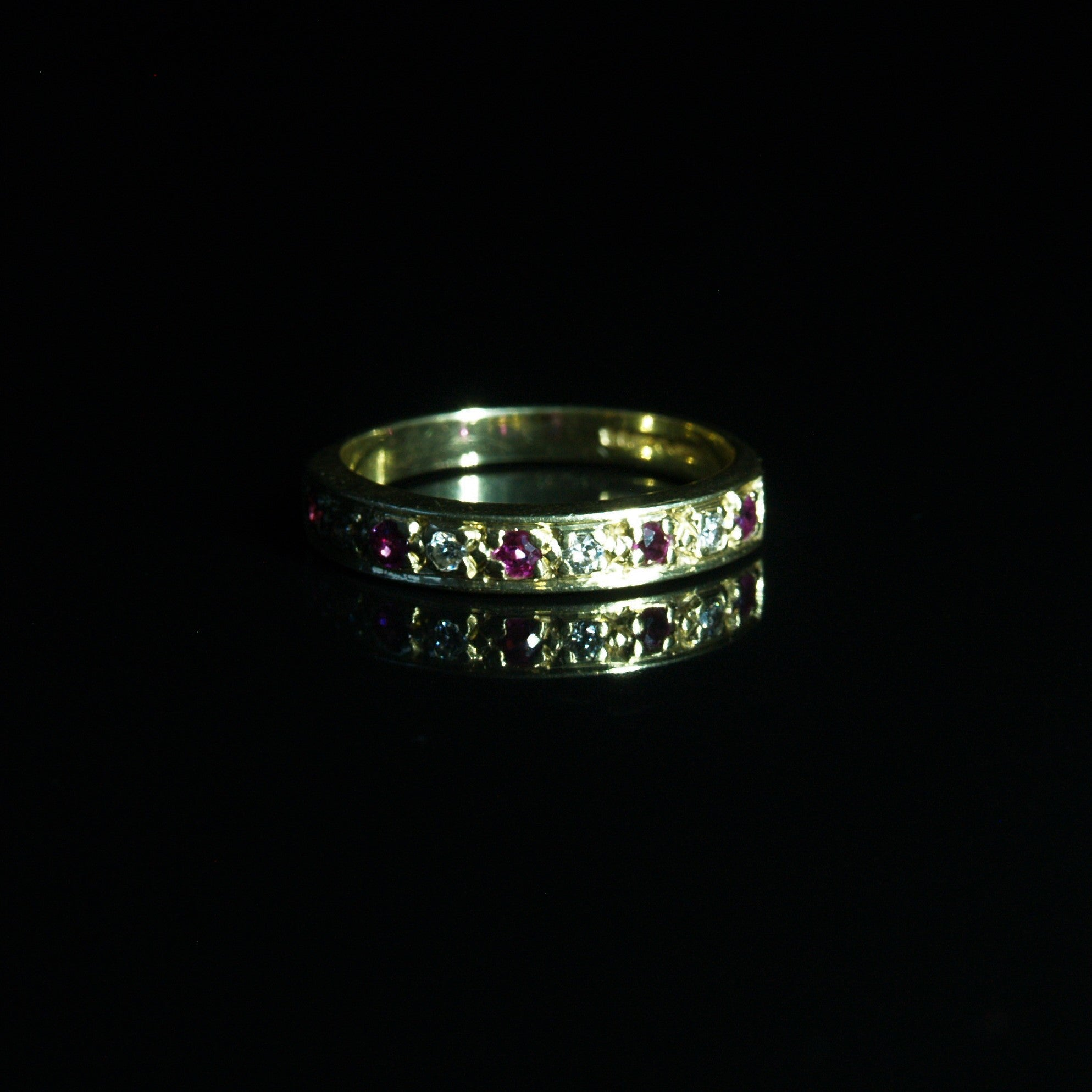 18ct Ruby & Diamond Eternity Ring.
