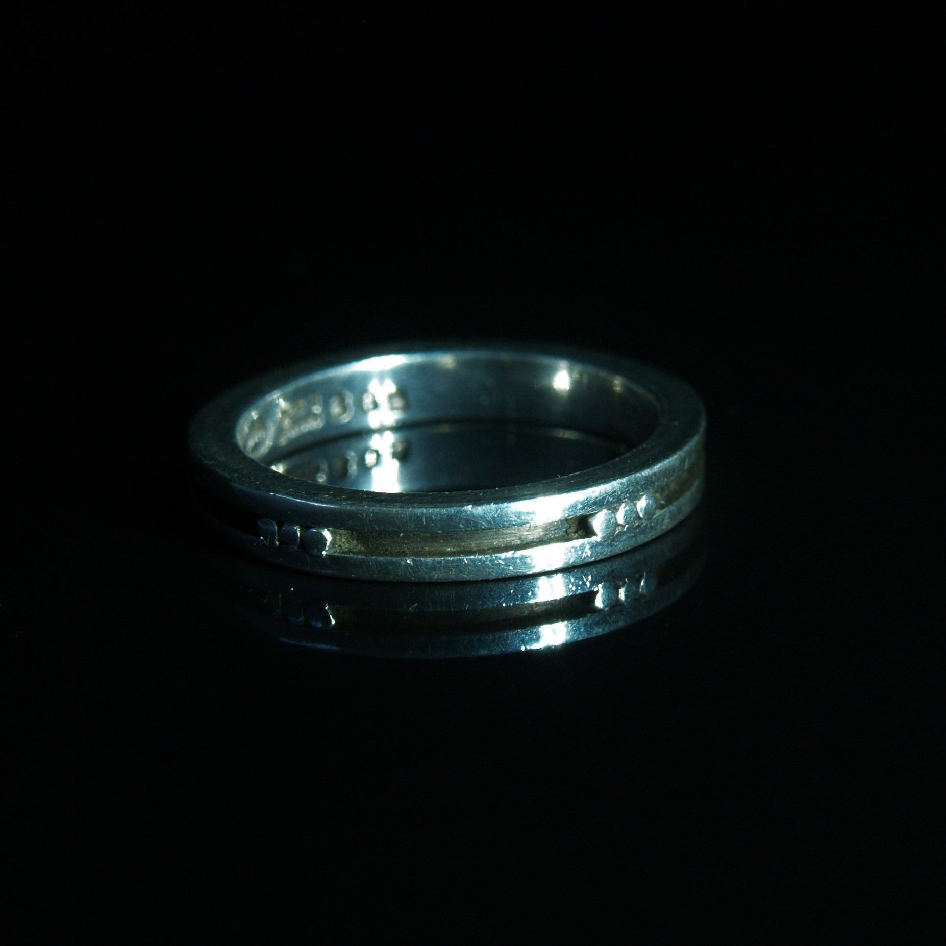 Georg Jensen Silver 'His & Hers' Wedding Band.