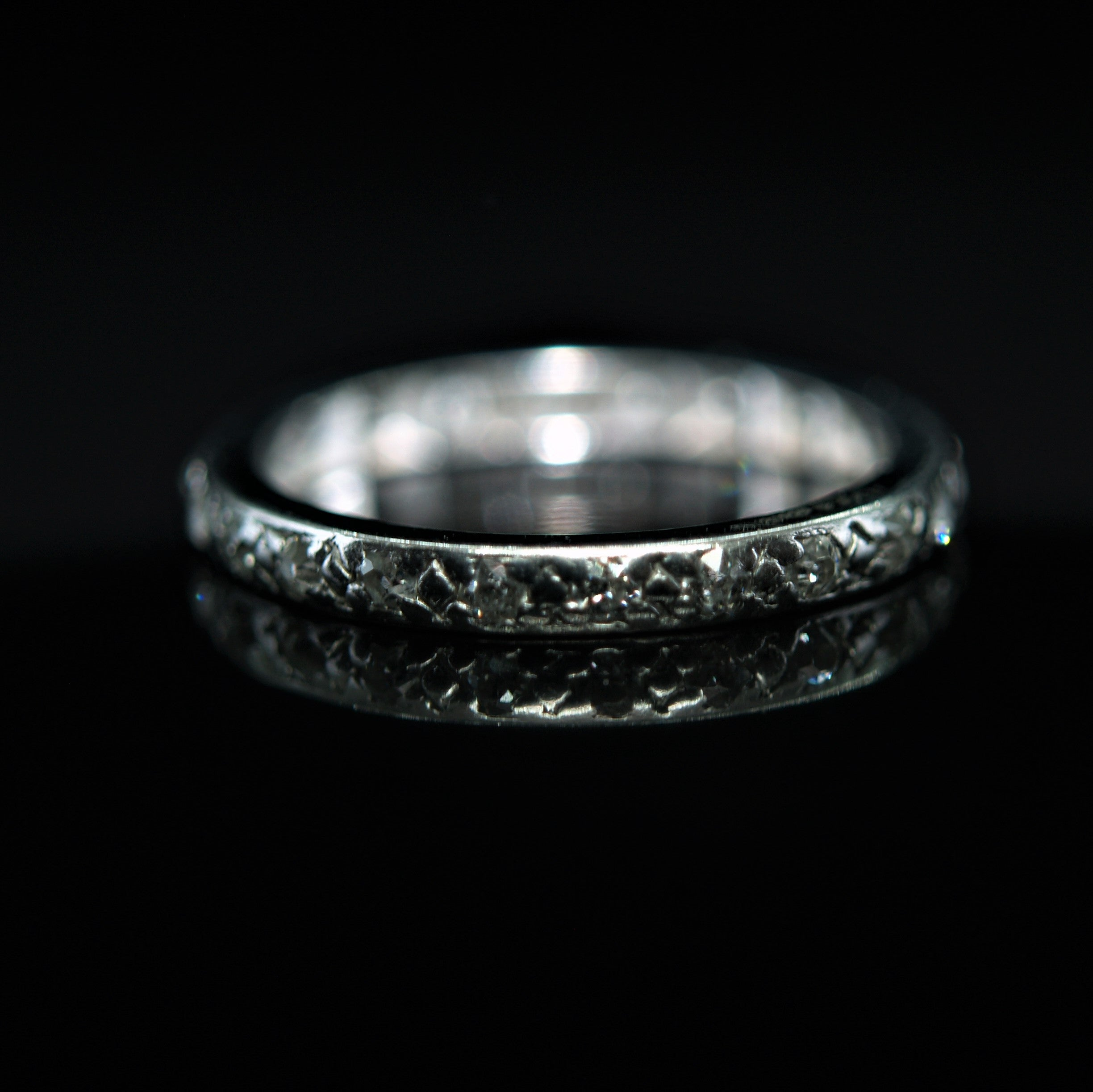Early 20th Century Platinum & Diamond Eternity Ring.