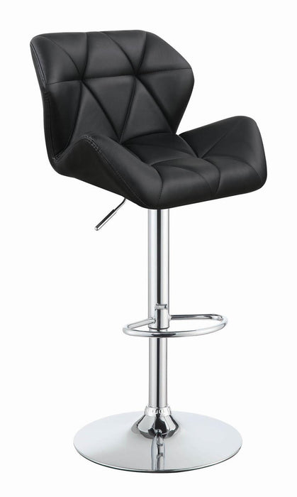 G100425 Modern Black Adjustable Bar Stool image