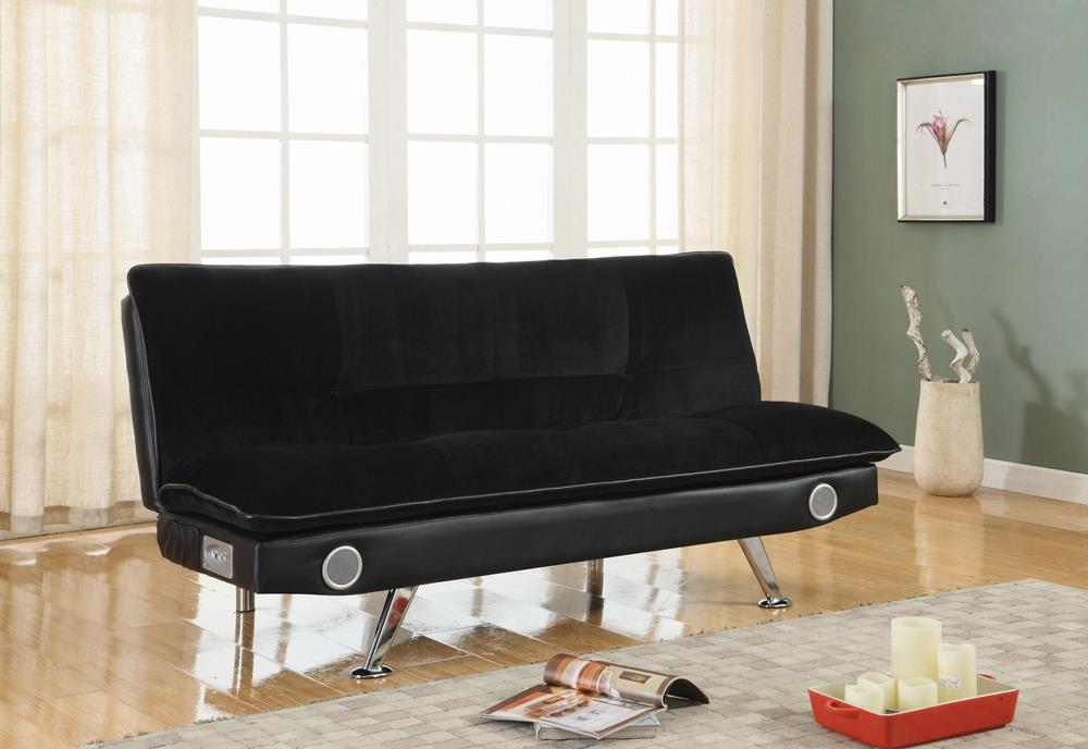 G500187 Casual Black Sofa Bed image