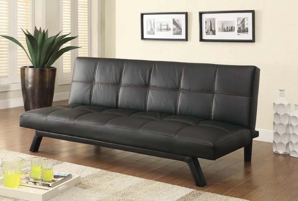 G500765 Contemporary Black Sofa Bed image