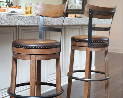 Pinnadel Signature Design by Ashley Barstool Set of 2