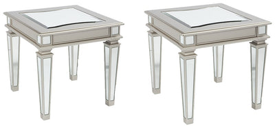 Tessani Signature Design 2-Piece End Table Set