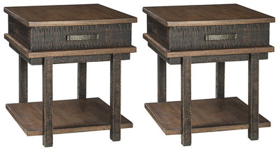 Stanah Signature Design 2-Piece End Table Set