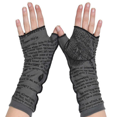 Fingerless gloves cotton