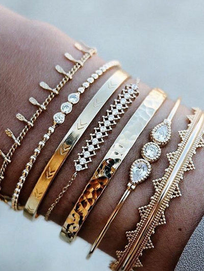 7 Piece Jewelry Bracelet Fashion Bracelet