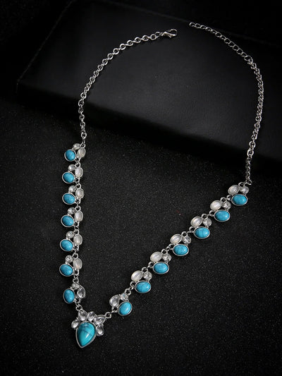 Fashion Boho Turquoise Necklace