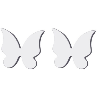 Butterfly Sterling Silver Earring