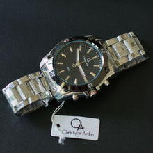 Load image into Gallery viewer, Christyan Arden Men Collection Water Resist GTH CA8645 Black Dial