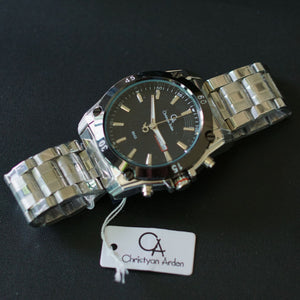 Christyan Arden Men Collection Water Resist GTH CA8645 Black Dial