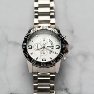 Christyan Arden DAYDATE EDITION CA8695 GTH - White Dial (46mm)