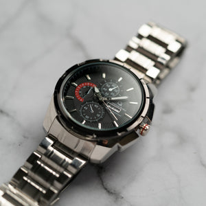 Christyan Arden DAYDATE EDITION CA8697 GTH - Black Dial (46mm)