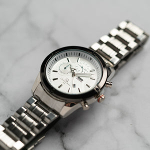 Christyan Arden DAYDATE EDITION CA8696 GTH - White Dial (46mm)