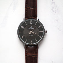 Load image into Gallery viewer, Christyan Arden Full Grain Leather CA0027 Brown - Black Dial (Pria)