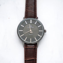 Load image into Gallery viewer, Christyan Arden Full Grain Leather CA0021 Brown - Black Dial (Wanita)