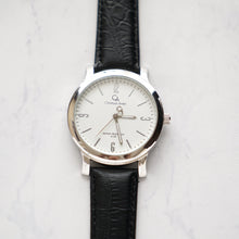 Load image into Gallery viewer, Christyan Arden Full Grain Leather CA4126 Black - White Dial (Pria)