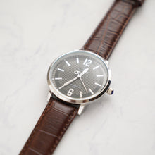Load image into Gallery viewer, Christyan Arden Full Grain Leather CA4125 Brown - Black Dial (Pria)