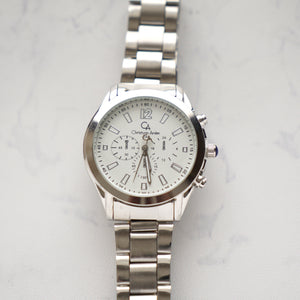 Christyan Arden Luxury Collection CA4164 White Dial (Pria)