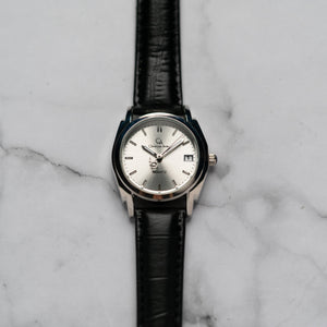 Christyan Arden ICARUS CA-001 - Around The World Edition - Silver Sunburst Dial - Black Full Grain Strap (Wanita)